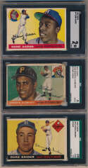 Lot #549 1955 Topps  Complete Set Cond: Poor-Good