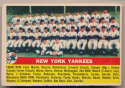 Lot #594 1956 Topps # 251 Yankees TC Cond: VG-Ex/Ex