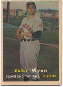 Lot #610 1957 Topps # 40 Wynn Cond: Ex
