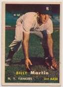 Lot #611 1957 Topps # 62 B. Martin Cond: Ex