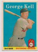 Lot #637 1958 Topps # 40 Kell Cond: Ex