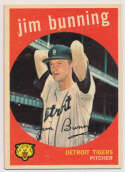 Lot #684 1959 Topps # 149 Bunning Cond: Ex++