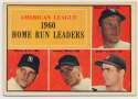 Lot #761 1961 Topps # 44 Mantle/Maris/Colav LL Cond: VG+