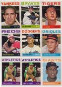 Lot #798 1964 Topps  17 different stars/specials w/key HOFers Cond: Ex-Mt+