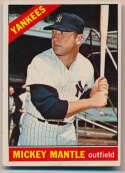 Lot #803 1966 Topps # 50 Mantle Cond: VG+