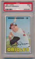 Lot #808 1967 Topps # 600 Brooks Robinson Cond: PSA 5