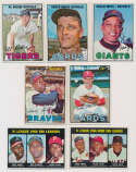 Lot #809 1967 Topps  538 different w/15 high numbers