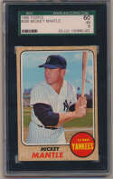 Lot #817 1968 Topps # 280 Mantle Cond: SGC 5