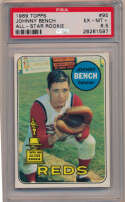 Lot #819 1969 Topps # 95 Bench Cond: PSA 6.5
